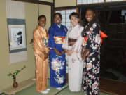 Japanese kimono rental