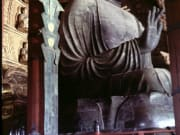 The Giant Buddha Statue of Todaiji Temple.