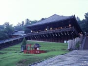 Picturesque shrine and temple grounds in Nara