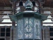 A beautiful Japanese lantern at Todaiji Temple