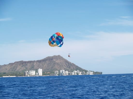 Enjoy An Ustructed Spectacular View Of Honolulu