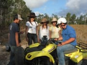 guide showing travelers how to operate ATV bike