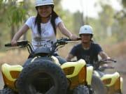 woman enjoying the ATV Quad Bike Tour in Australia