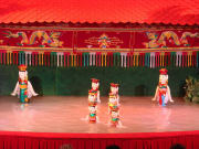 Ho Chi Minh water puppet show