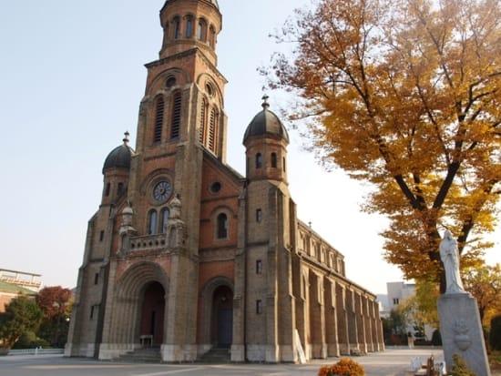 殉教者のために造られた殿洞聖堂