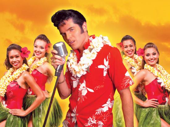 011. Elvis with Hula Girls