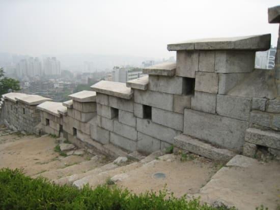 ソウルの城壁