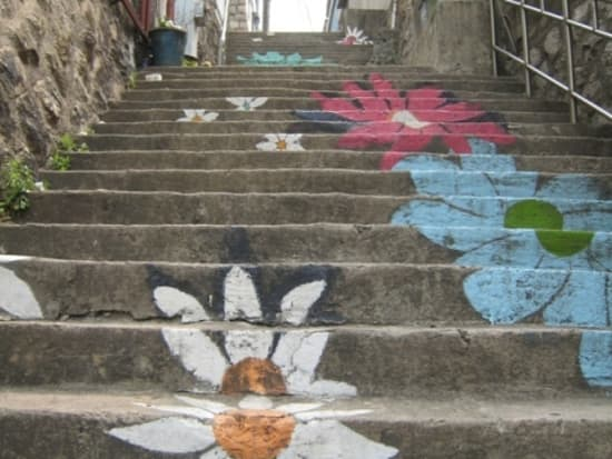 梨花の階段