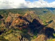 Olokele Canyon and Mt Waialeale