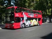 Madrid hop-on hop-off bus