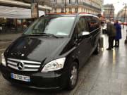 Paris airport transfer service