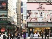 ソウル市内を自由に観光