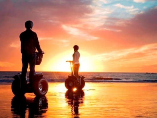 A Gorgeous Hawaiian Sunset From Segway