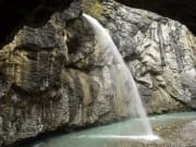 Waterfall in Aare Gorge