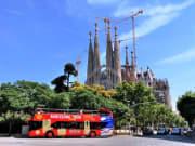 Sagrada Familia hop on hop off bus tour