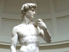 Florence, David by Michelangelo. Accademia Gallery
