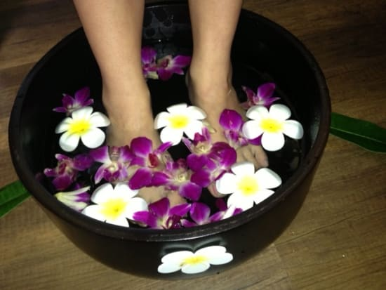 Foot Spa with Herb