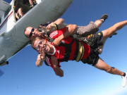 jump from plane tandem skydive australia