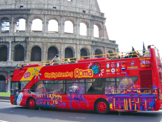 Rome City Sightseeing Hop On Off Tour Tours Activities