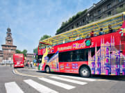 Milan hop on hop off bus tour