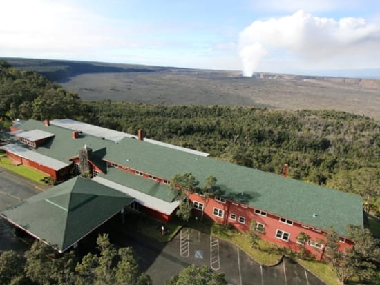 Volcano House Aerial Photo Credit- Courtesy of NPS hi res