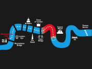 Thames Rush route