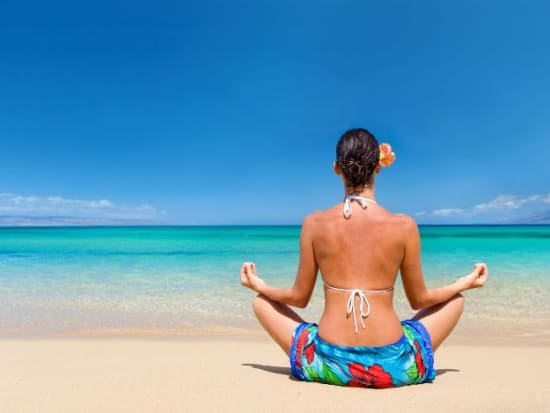 Relax With A Yoga Session At Waikiki Beach