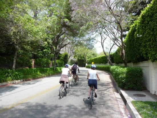 1-LA in a Day--Biking Beverly Hills