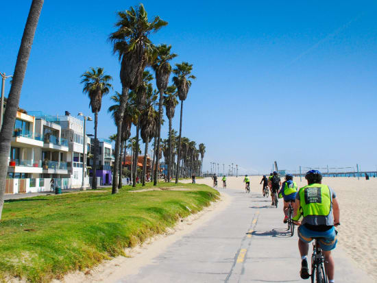 1-LA in a Day--biking the beach