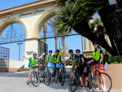 3-Hollywood Bike Tour--Paramount Picture's Gate