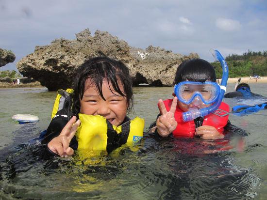 珊瑚スノーケル&トレッキング (23)