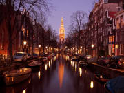 Amsterdam, Candlelight canal cruise