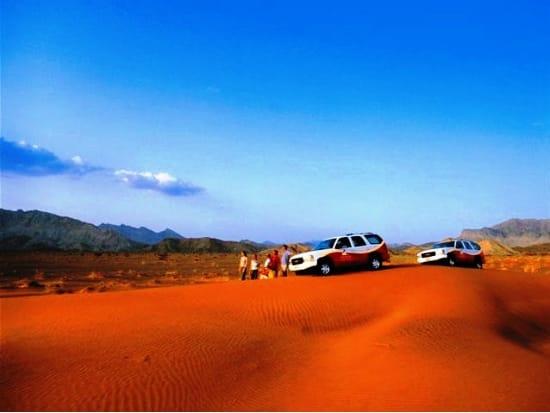 どこまでも続く砂漠