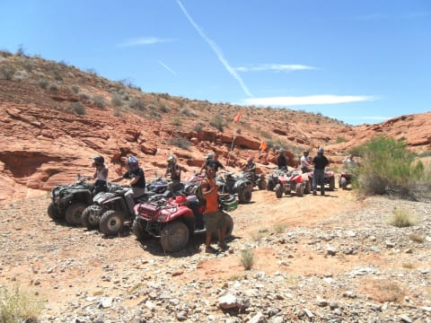 Off-Road Valley of Fire Dune Buggy Adventure with Lunch, Las