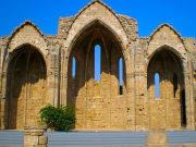 ロドス島-中世の教会