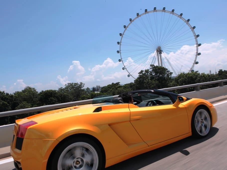 Drive The Streets Of Singapore In Style!
