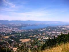 サレーブ山からのジュネーブの眺め