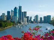 river & city