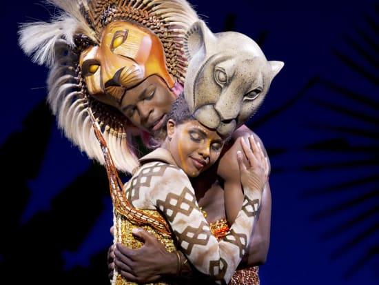The Lion King cast Simba and Nala