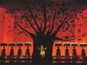 The Lion King live at the Lyceum Theatre