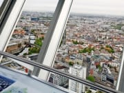 View from panoramic floor Berlin TV Tower 1