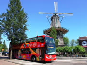 amsterdam hop on hop off double decker bus