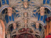The magnificent ceiling in the Chapel Royal at Hampton Court Palace#