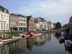 美しいゲントの運河