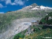 フルカ峠とローヌ氷河_スイス政府観光局