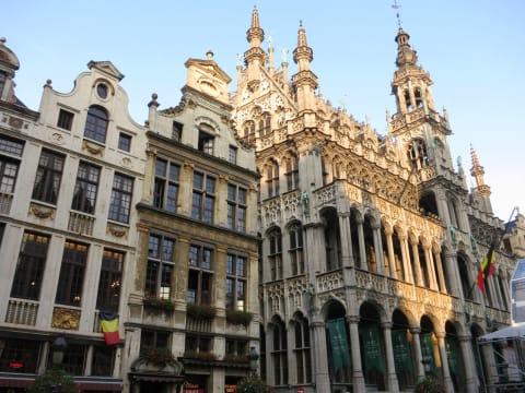 ブリュッセル市内ツアー