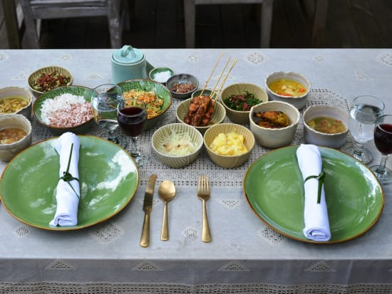 FC - Ritztafel menu in Bamboo Forest Restaurant