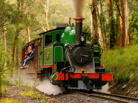 蒸気機関車パッフィンビリー/ダンデノン
