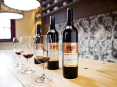 3 glasses and 3 bottles of wine margaret river