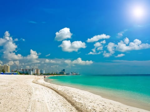 穴場のマイアミビーチ